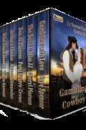 Gambling on a Cowboy: Six Full-Length Historical Western Romance Novels
